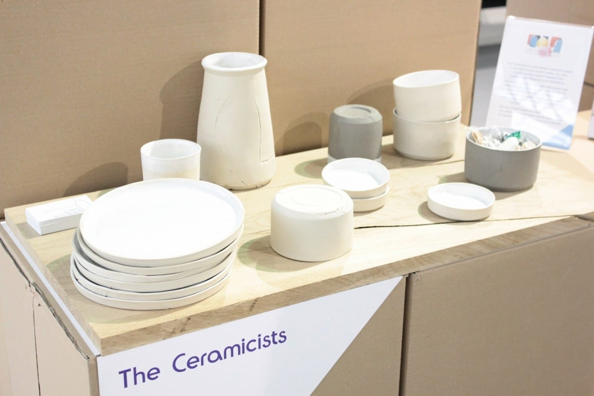 the ceramicists at Pulse Olympia